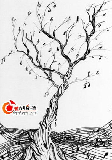 手绘小区标注树